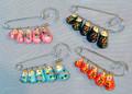 Matrioshka Pin - Assorted Colors