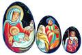 Nativity Nesting Egg | Religious Theme Matryoshka Nesting Doll