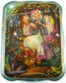 Baba Yaga by Maslov | Russian Lacquer Box - SOLD