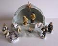 Alaska Nativity Set 12 Pieces