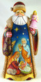 Santa with Nativity and Angel-small | Grandfather Frost / Russian Santa Claus