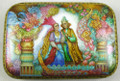 Magic Garden by Marina Rogatova | Russian Lacquer Box