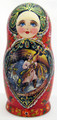Firebird 5 Nest Doll. | Fine Art Matryoshka Nesting Doll