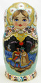 Russian Fairy Tales 5 nest Doll