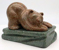 Brown Bear | Bronze and Soapstone