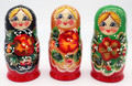 Red Flower | Traditional Matryoshka Nesting Doll