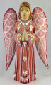 Hand Carved Angel -Pink Dress