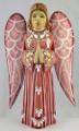 Hand Carved Angel -Pink Dress
