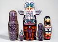 Totem Nesting Doll | Alaska Theme Matryoshka Nesting Doll