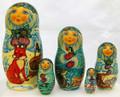 Winter Matryona | Fine Art Matryoshka Nesting Doll