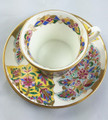 Uzori Cup and Saucer, Vary Rare collectible Russian Porcelain