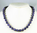 Charoite Bead Necklace