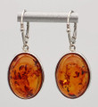 Amber Earrings Fancy Setting | Baltic Amber