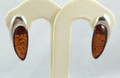 Flower Petal Amber Earrings | Baltic Amber