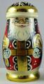 Small Red Santa | Matryoshka / Nevalashka Doll