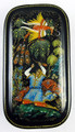 Ivan Tsarevich and the Firebird | Palekh Lacquer Box