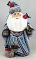 Santa with Birds on a Stump | Grandfather Frost / Russian Santa Claus