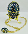 Good Time - Blue Egg with Necklace
