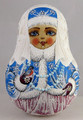 Snowmaiden with Pearl Beads
