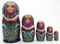 Snow Maiden | Fine Art Matryoshka Nesting Doll