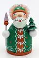 Santa - Green | Grandfather Frost - Russian Santa Claus