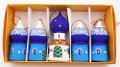 Cathedral Dome Blue - Set of 5 | Russian Christmas Ornament