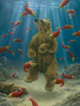 The Swimmer  | Robert Bissell Artwork