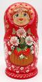 Strawberry Doll | Fine Art Matryoshka Nesting Doll