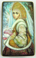 Snow Maiden with Rabbit | Fedoskino Lacquer Box