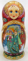 Frog Princess - Vyatka Doll | Unique Museum Quality Matryoshka Doll