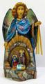 Angel with Nativity by Olga Sukhovei