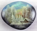 Winter Landscape | Fedoskino Lacquer Box