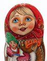 My New Doll by Ivanova   Fine Art Matryoshka Nesting Doll