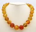 Baltic Amber Large Round Beads