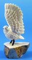 Ivory Owl | Alaskan Ivory Carving - SOLD