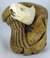 Whalebone Eagle by Aaron Barrett | Whalebone / Walrus Jawbone Carving