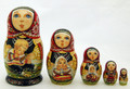 Berry Pickers - Small | Fine Art Matryoshka Nesting Doll