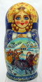 Russian Troika Doll | Unique Museum Quality Matryoshka Doll