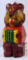 Bear with Accordion | Russian Christmas Ornament