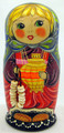 Doll with Samovar | Traditional Matryoshka Nesting Doll