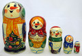 Jolly Snowman | Matryoshka / Nevalashka Doll