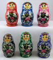 Floral 5pc Matryoshka Set