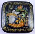 Mouse | Palekh Lacquer Box