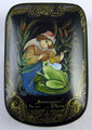 Frog Princess by Krasnov | Palekh Lacquer Box