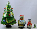 Christmas Tree - 4 Nest | Traditional Matryoshka Nesting Doll