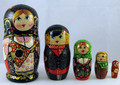 Matryoshka with Balalaika