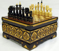 Fancy Russian Chess Set - small
