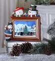 Christmas Snowmen Frame