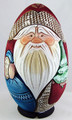 Russian Ded Moroz with Friends - Egg  Shape