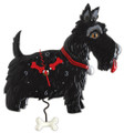Scottie Dog Pendulum Clock